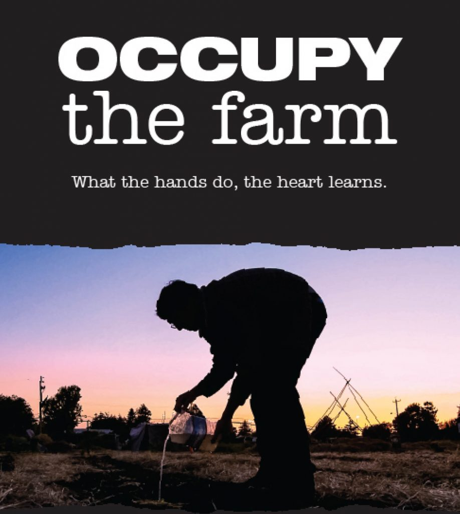 Occupy the Farm Poster